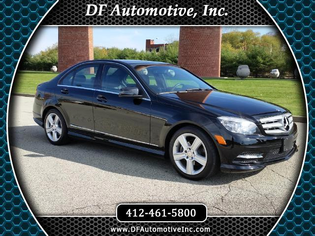 2011 Mercedes-Benz C300 C300 4MATIC Sport Sedan
