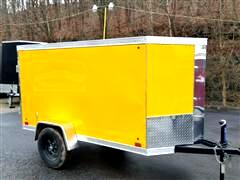 2018 Cross Trailers 4x8 Barn Door