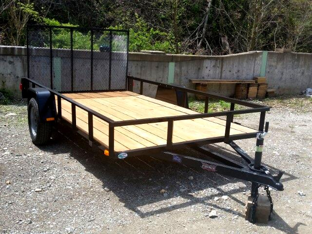 2018 Forest River Trailer 6.5x12 Utility Trailer