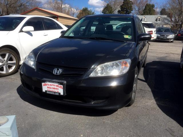 2005 Honda Civic EX sedan