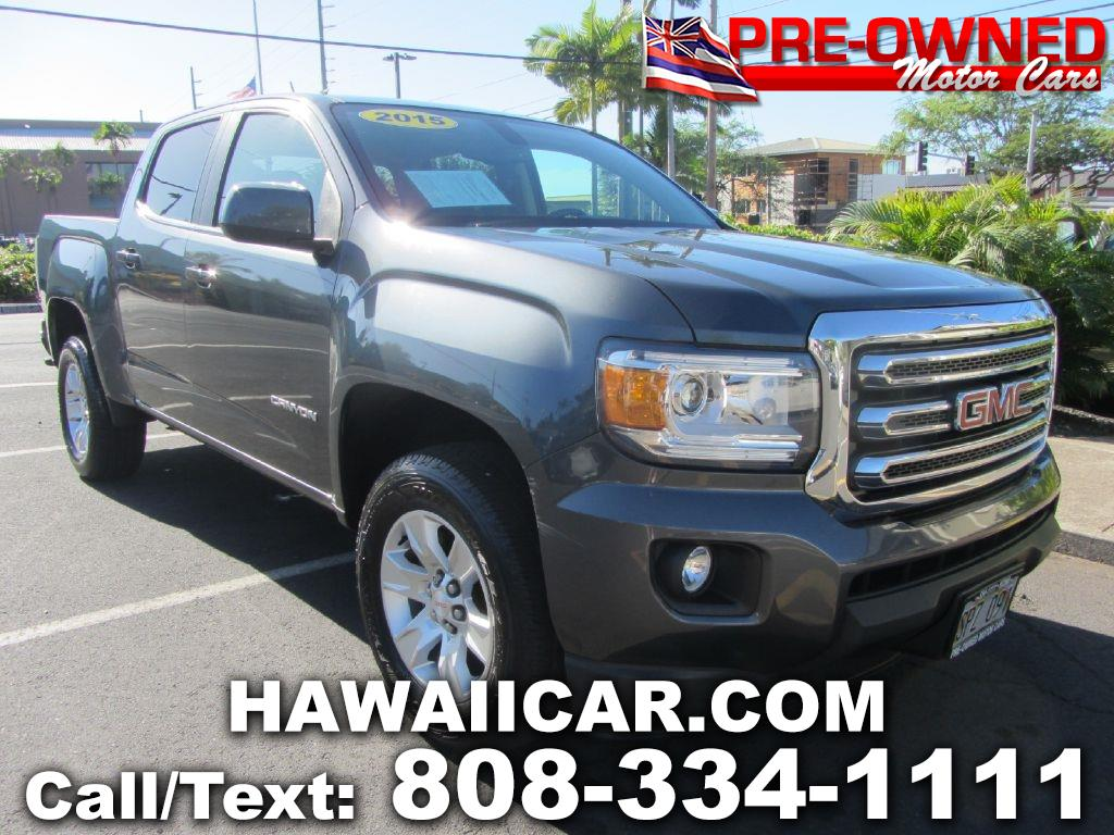 2015 GMC Canyon SLE Crew Cab 2WD Short Box