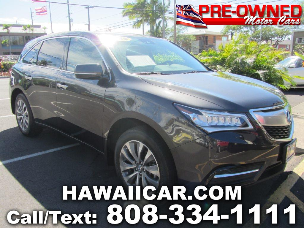 2016 Acura MDX 4dr SUV AT