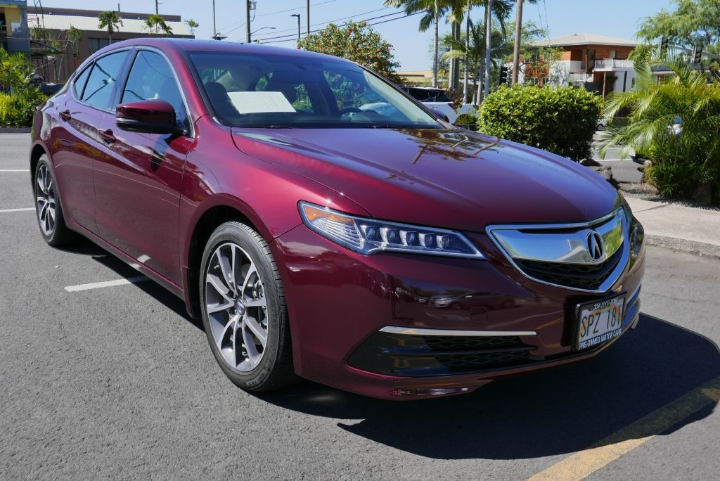 2015 Acura TLX 4dr Sdn FWD