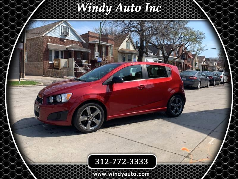 2015 Chevrolet Sonic RS Auto 5-Door