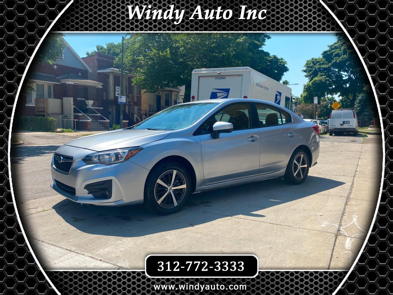 Subaru Impreza 2.0i Premium CVT 4-Door 2019