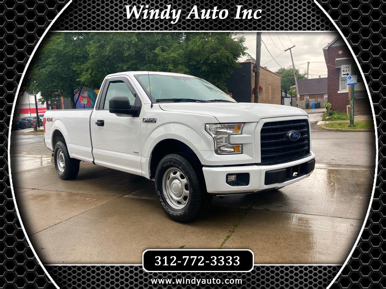 Ford F-150 XL 8-ft. Bed 4WD 2016
