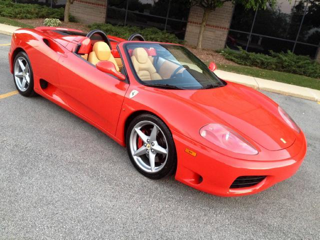 2002 Ferrari 360 Modena Spider F1