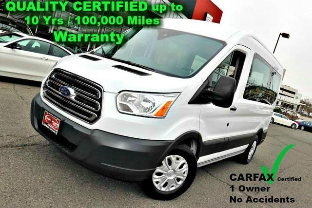 2017 Ford Transit XLT - 10 Passenger Seating - CARFAX Certified 1 Ow