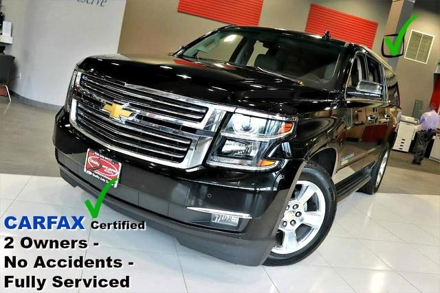 2015 Chevrolet Suburban LTZ - Carfax Certified 2 Owners - No Accidents - F