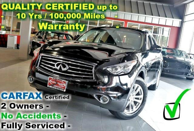 2015 Infiniti QX70 AWD - CARFAX Certified 2 Owners - No Accidents - F