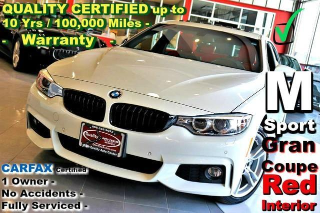 2016 BMW 4-Series Gran Coupe 435i xDrive - Gran Coupe - M Sport Pkg - Red Int -