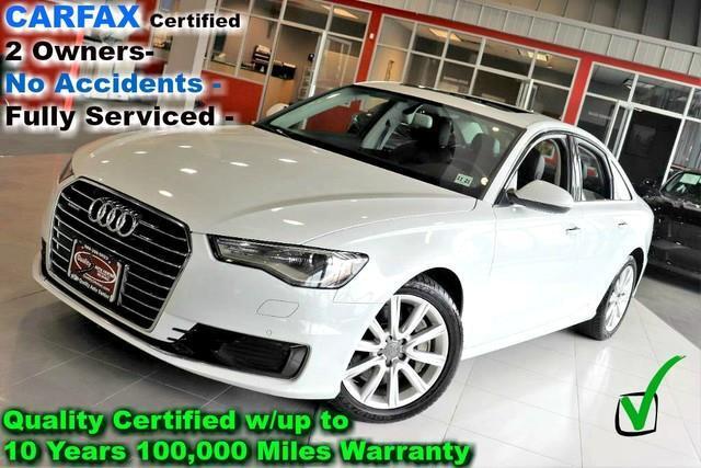 2016 Audi A6 2.0T Quattro - Premium Plus - CARFAX Certified 2 O