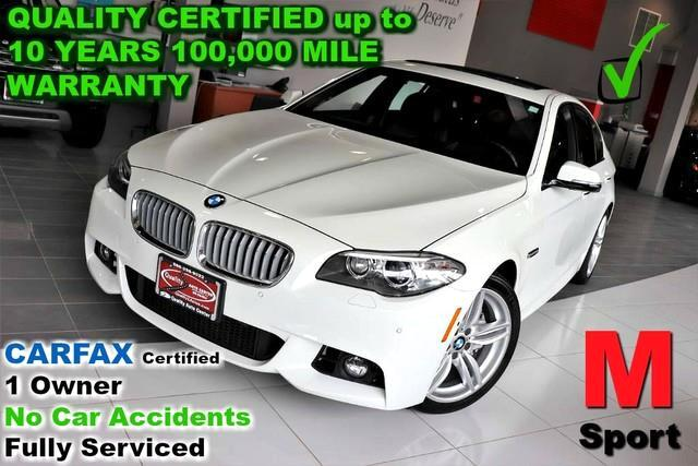 2016 BMW 5-Series 550i xDrive M Sport Pkg - Loaded - CARFAX Certifie