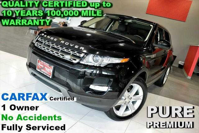 2015 Land Rover Range Rover Evoque Pure Premium - CARFAX Certified 1 Owner - No Accid