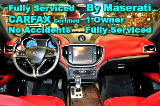 2016 Maserati Ghibli S Q4 Sport - CARFAX Certified 1 Owner - No Acciden