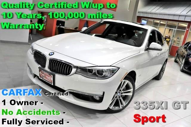 2016 BMW 3-Series Gran Turismo 335i xDrive Sport - CARFAX Certified 1 Owner -  No