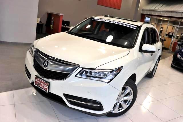 2016 Acura MDX w/Advance - CARFAX Certified 1 Owner - No Accident