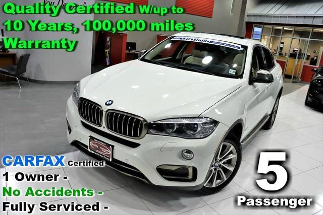 2016 BMW X6 xDrive50i Sport - Fully Loaded - CARFAX Certified