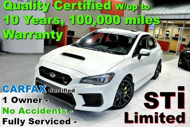 2018 Subaru WRX STI Limited - CARFAX Certified 1 Owner - No Accide