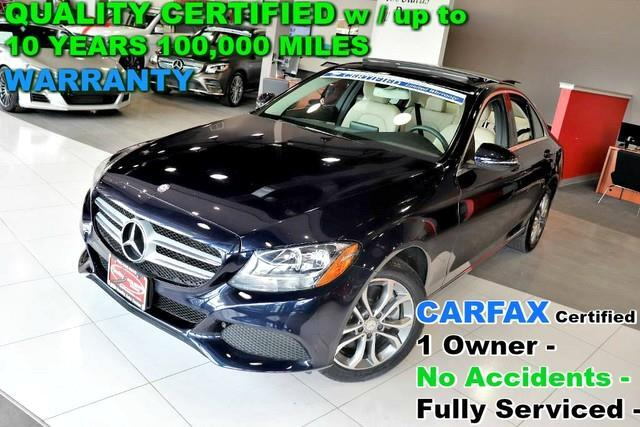 2016 Mercedes-Benz C-Class CARFAX Certified 1 Owner - No Accidents - Fully Se