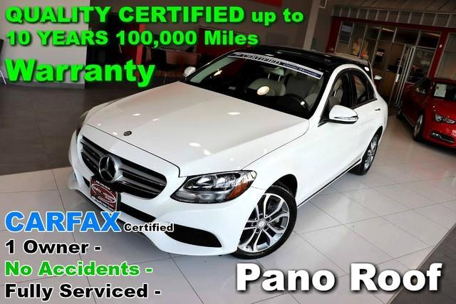 2016 Mercedes-Benz C-Class C 300 4MATIC - CARFAX Certified 1 Owner - No Accid