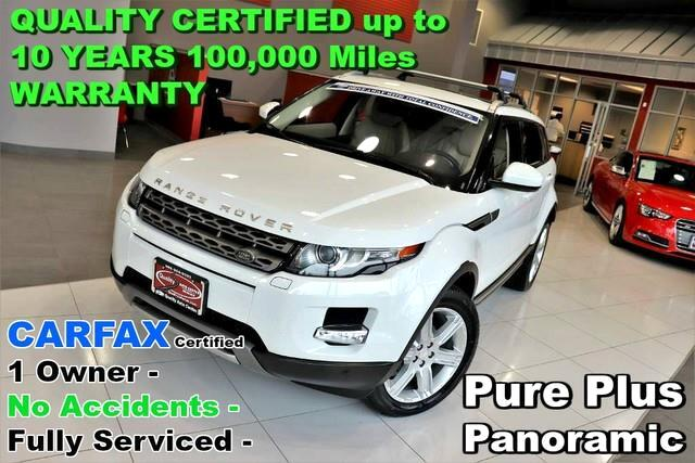 2015 Land Rover Range Rover Evoque Pure Plus - CARFAX Certified 1 Owner - No Accident