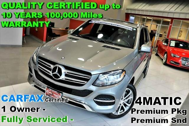 2016 Mercedes-Benz GLE-Class GLE 350 4MATIC - CARFAX Certified 1 Owner - Fully