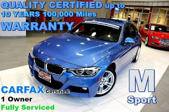 2016 BMW 3-Series 340i xDrive - M Sport - CARFAX Certified 1 Owner -