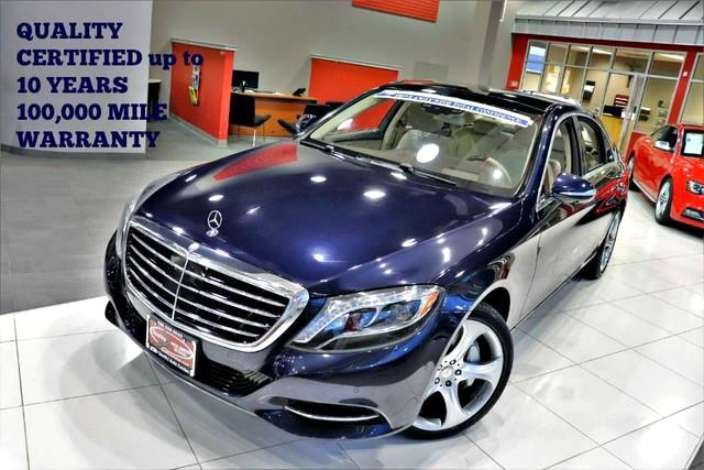 2015 Mercedes-Benz S-Class S 550 Carfax Certified ONE OWNER QUALITY CERTIFIED