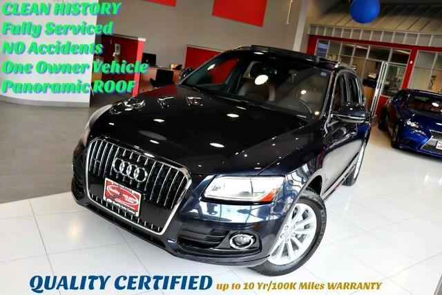 2015 Audi Q5 Premium Plus CarFax-Certified One Owner No Acciden