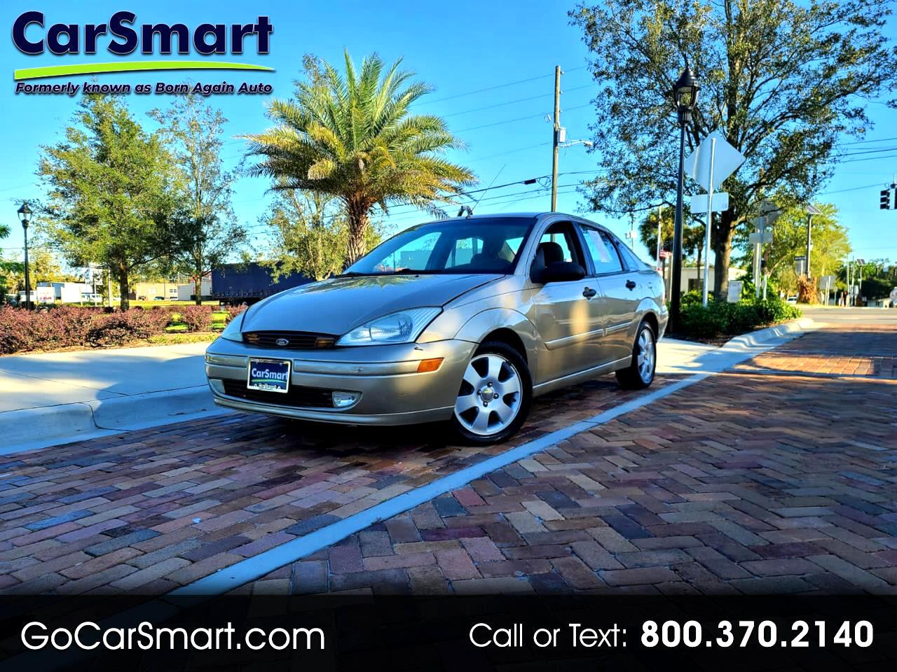 Ford Focus 4dr Sdn ZTS 2002