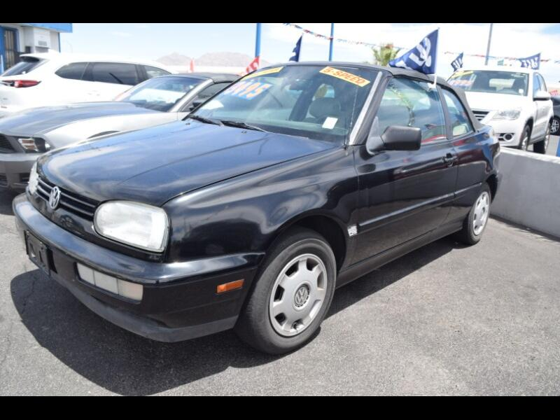 Volkswagen Cabrio GL 1999