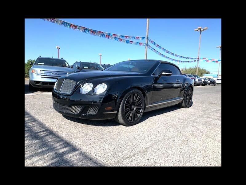 Bentley Continental GTC Speed 2010