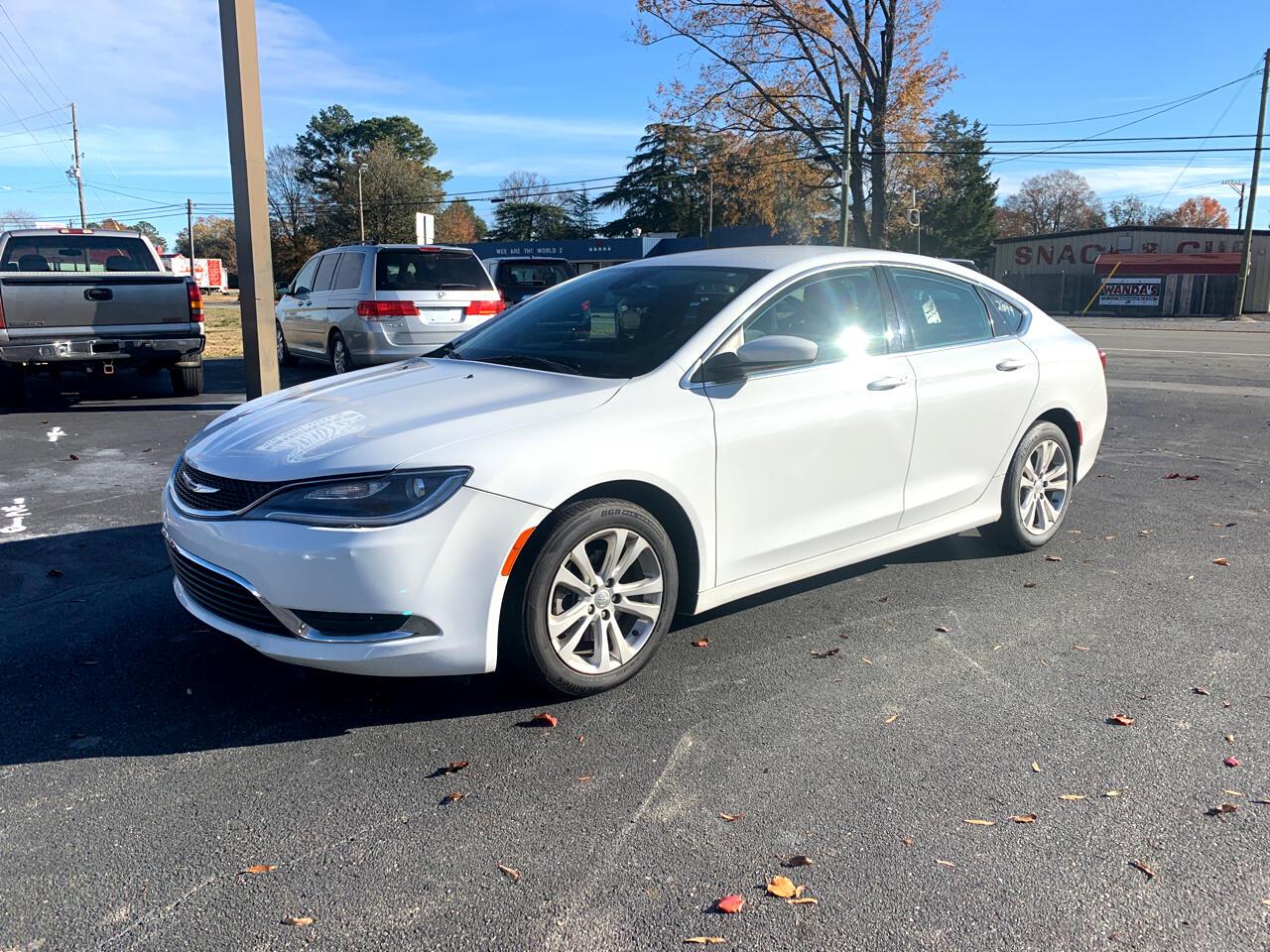 Chrysler 200 2dr Conv Limited 2015