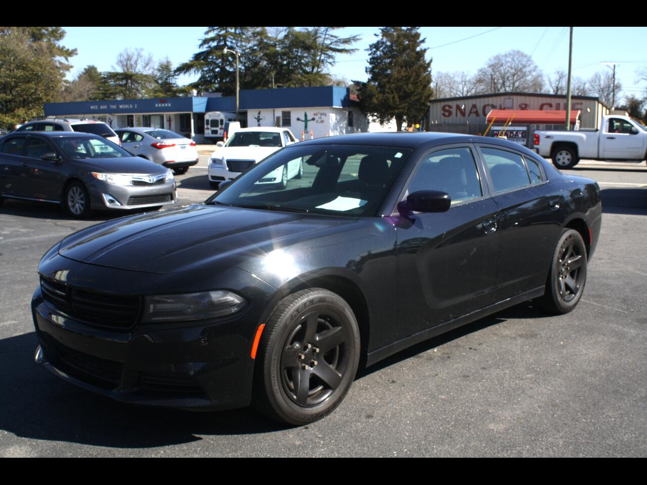 Dodge Charger Police 2016