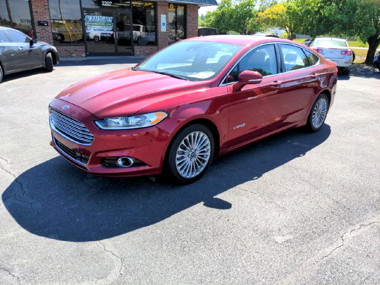 Ford Fusion Hybrid Titanium 2014