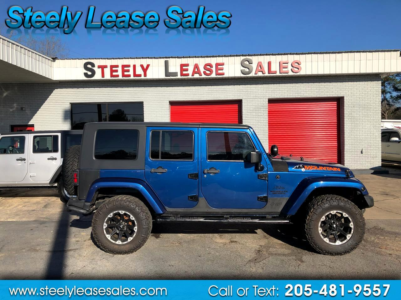 2010 Jeep Wrangler 4WD 4dr Mountain