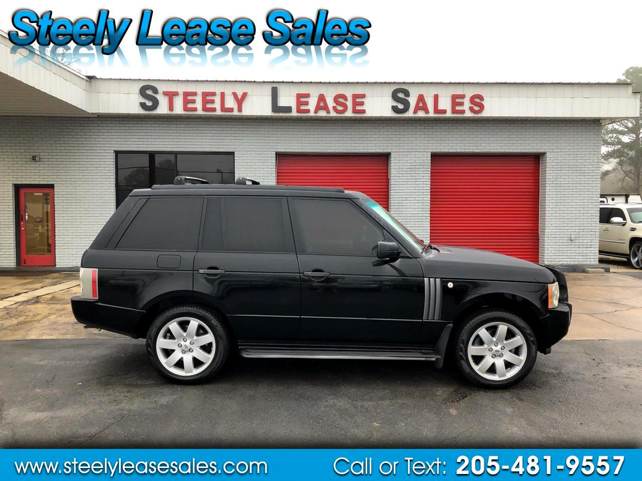 2007 Land Rover Range Rover 4WD 4dr HSE LUX