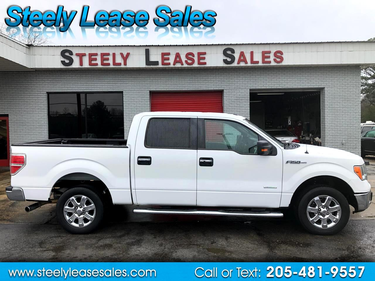 "Ford F-150 2WD SuperCrew 139"" XLT 2013"