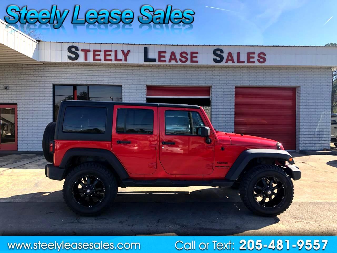 Jeep Wrangler Unlimited 4WD 4dr Sport 2016