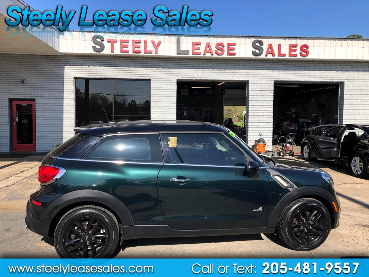 MINI Cooper Paceman AWD 2dr S ALL4 2013