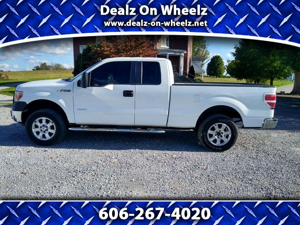 Ford F-150 XL SuperCab 8-ft. Bed 4WD 2013
