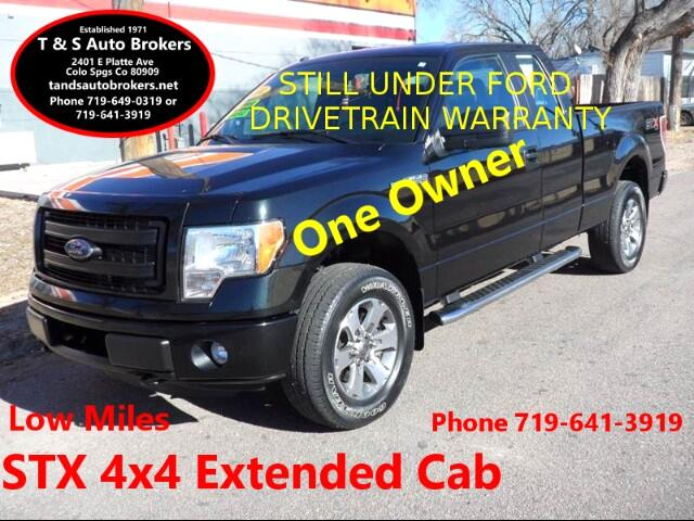 2014 Ford F-150 ONE OWNER LOW MILES EXT CAB 4X4 STX