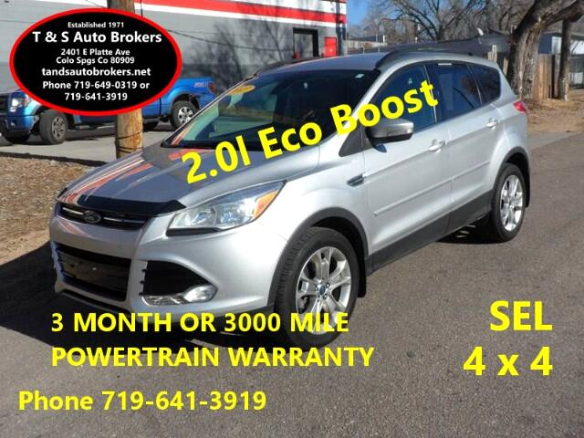 2013 Ford Escape SEL AWD 2.0L ECO BOOST