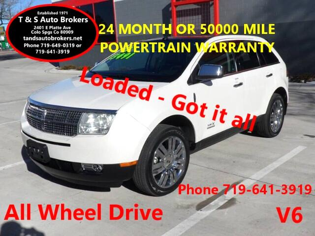 2009 Lincoln MKX LOADED ALL WHEEL DRIVE