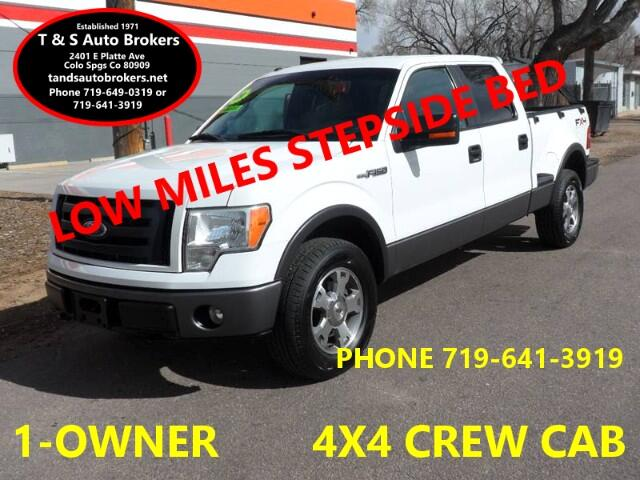 2009 Ford F-150 1-OWNER LOW MILES STEPSIDE BED