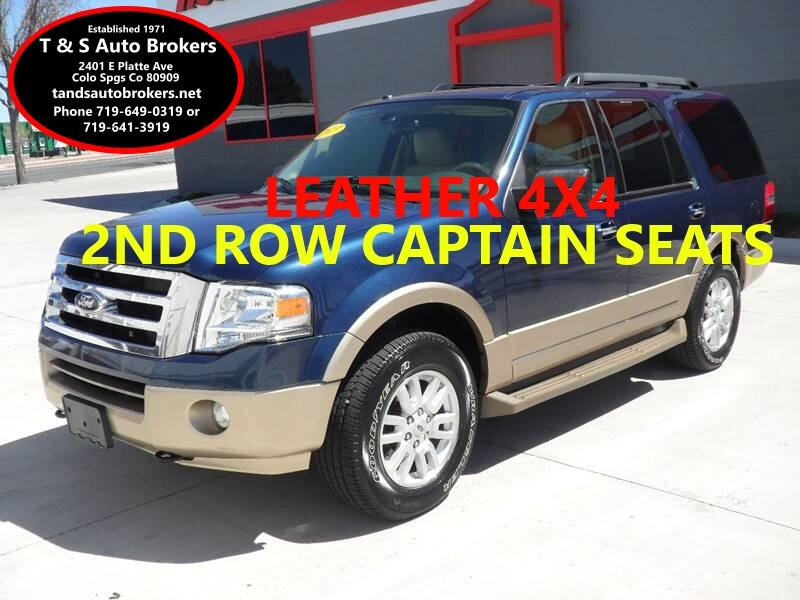 2013 Ford Expedition LOADED XLT 4X4 WITH LEATHER