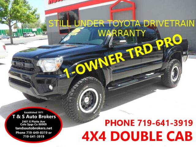 2015 Toyota Tacoma ONE OWNER TRD PRO 4X4