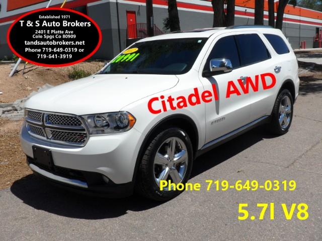 2012 Dodge Durango Citadel AWD