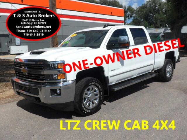 2017 Chevrolet Silverado 2500HD ONE OWNER LTZ DIESEL 4X4